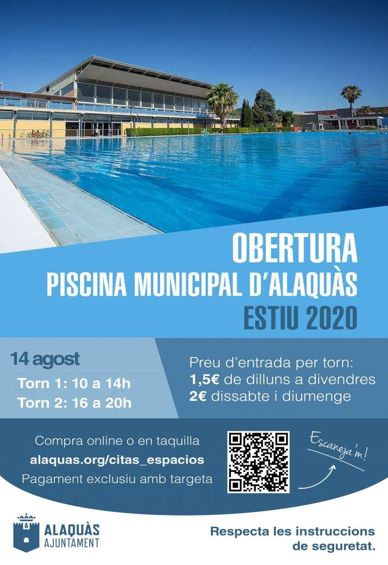 Reapertura de la piscina de Alaquàs. EPDA