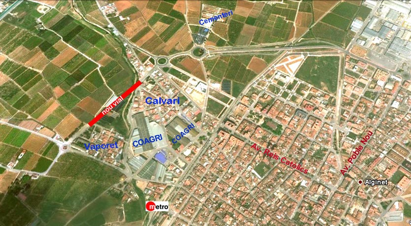 Imagen del término municipal de Alginet. FOTO BROCH
