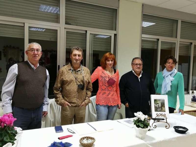 Jesús Moya, Juan Ramón Ruiz, Susana Roselló, Salvador García y l María Pilar Renart en la presentación.
