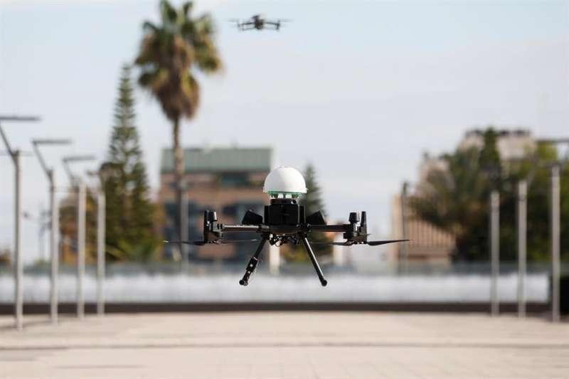 Imagen de archivo de un dron de la Generalitat Valenciana.