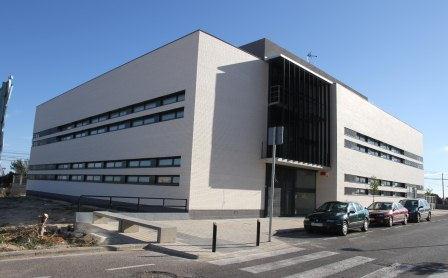 Imagen del edificio que albergará Especialidades Médicas en la calle Valencia. EPDA