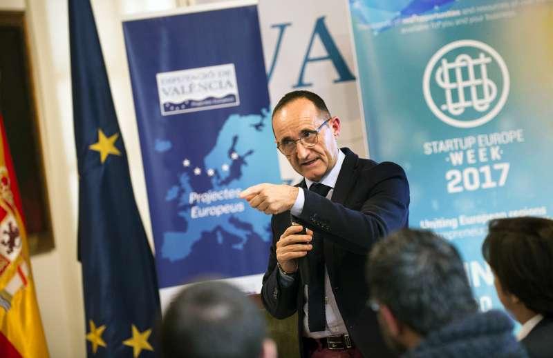 Bartolomé Nofuentes en Startup Europe Week.