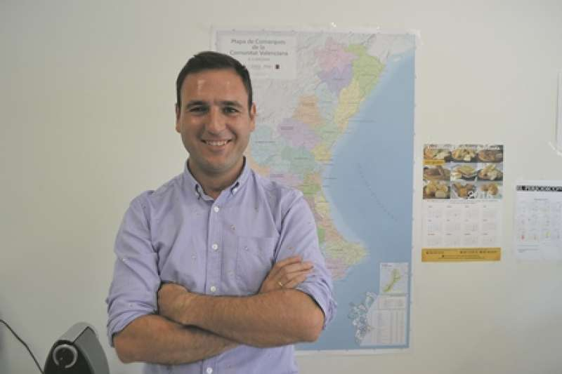 El concejal Ismael Gimeno. EPDA