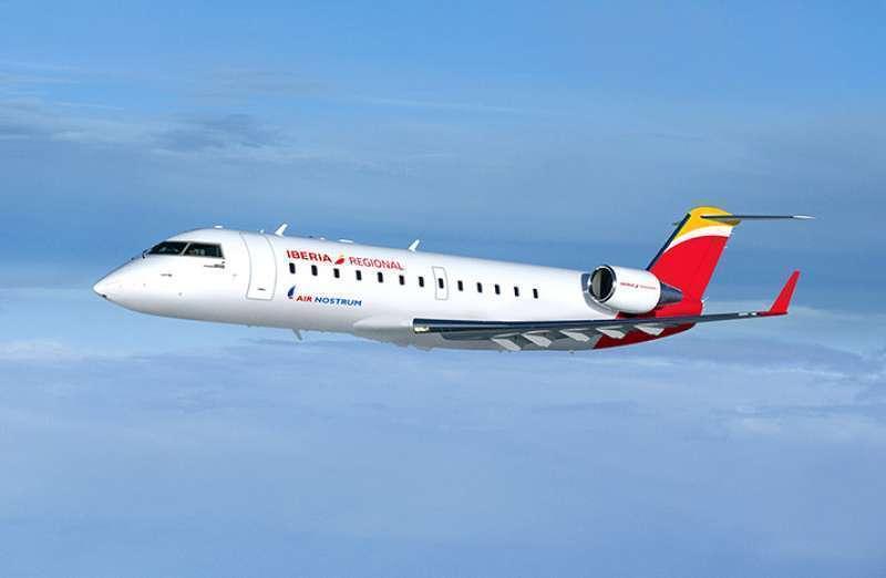 Imagen de archivo de un avión de Air Nostrum./ EPDA