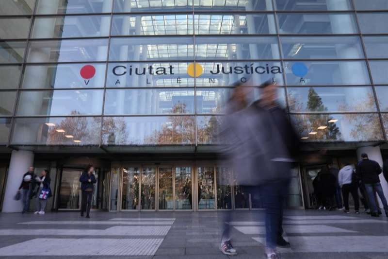 Imagen de la Ciudad de la Justicia de Valencia. EFE/Archivo