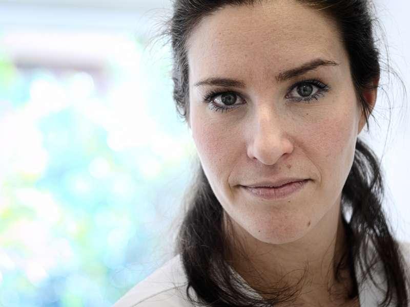 La nutricionista Ana Noverjes. EPDA