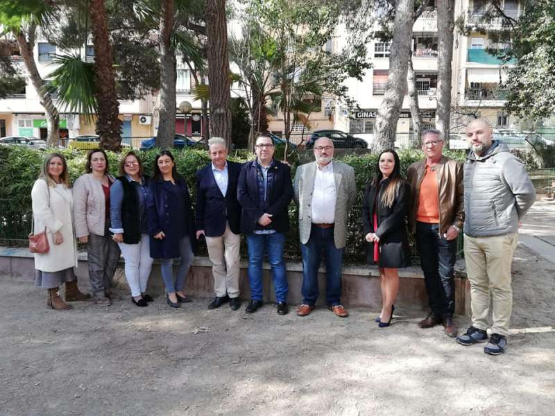 Foto de grupo de Contigo Rocafort. EPDA