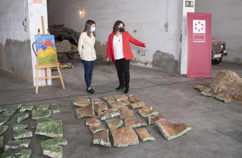 Diputación estudia la posible recuperación del mural