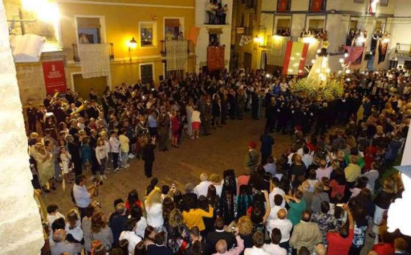 Procesión de la Virgen de Gracia en 2019