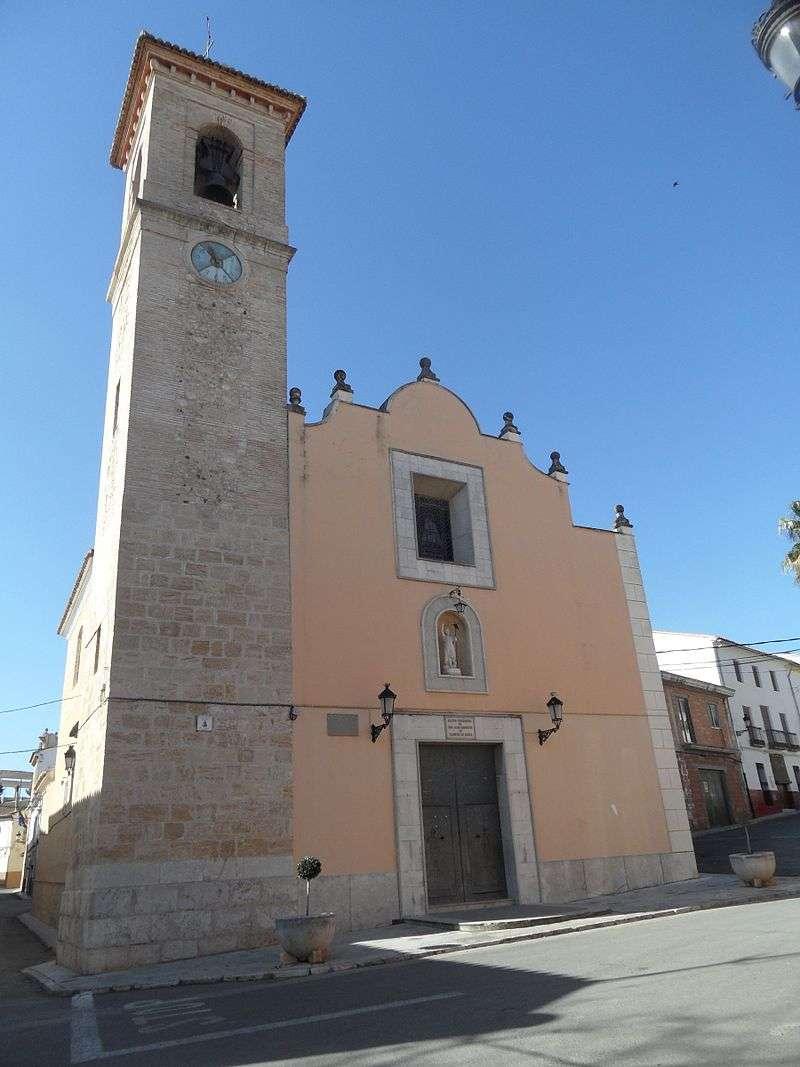 Iglesia de San Juan en Llanera de Ranes