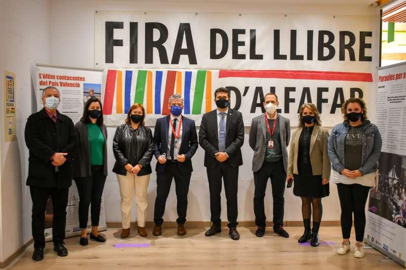 Presentación de la Feria del Libro de Alfafar.