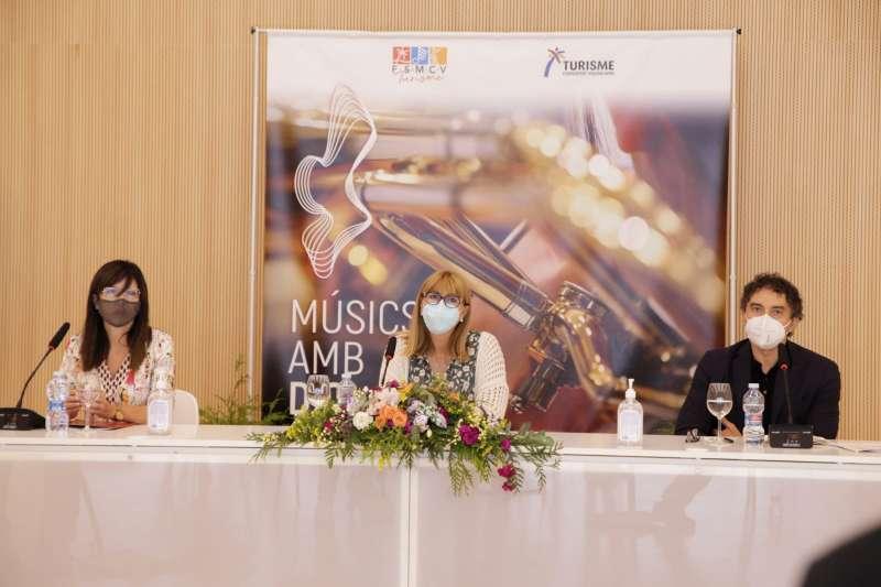 Turisme GVA y la Federación de Sociedades Musicales de la Comunidad Valenciana y arrancan la campaña Músics amb DO. EPDA