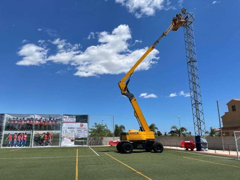 Camp de futbol municipal de Rafelbunyol.