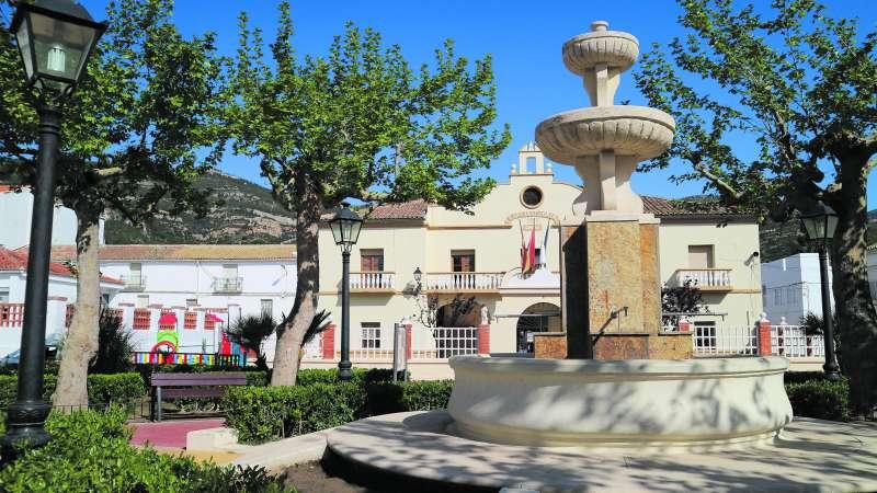 Plaza del Ayuntamiento de Chera