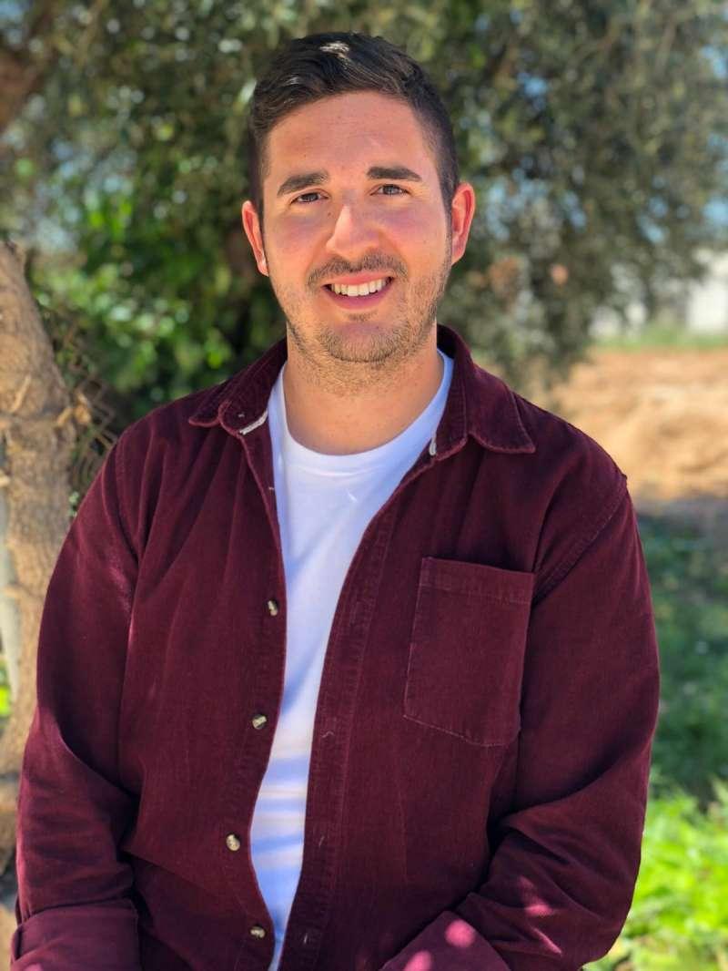 El alcalde de Fuenterrobles, Adrián Álvarez