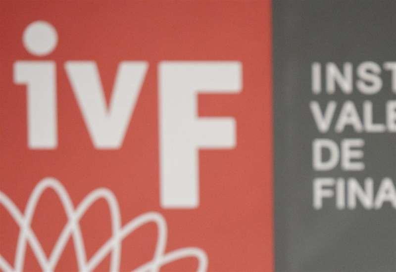 Imagen del logotipo del Instituto Valenciano de Finanzas (IVF). EFE/Biel Aliño/Archivo