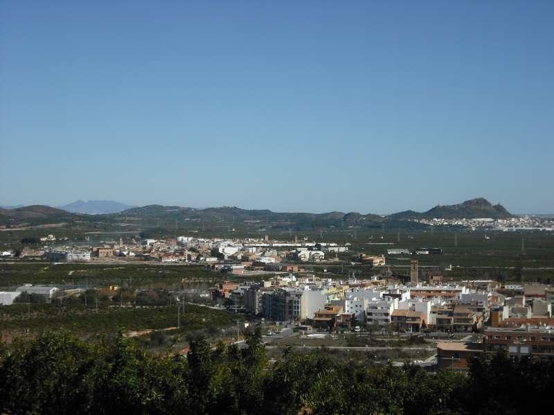 Vista de Benifairó y Quartell