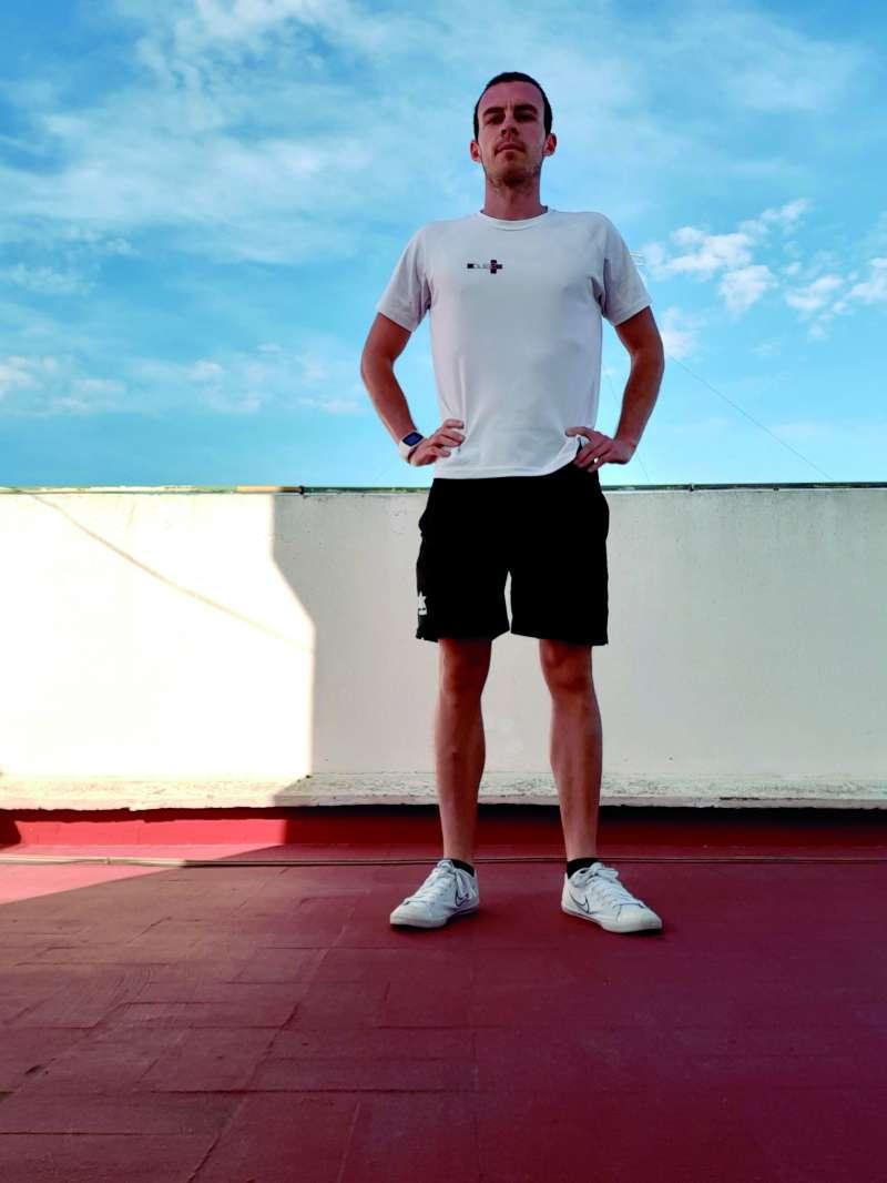 El entrenador personal Alejandro Ros Pedrós. / EPDA