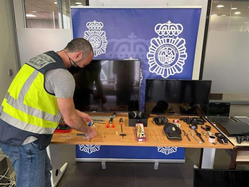Detenciones en Alicante. EFE