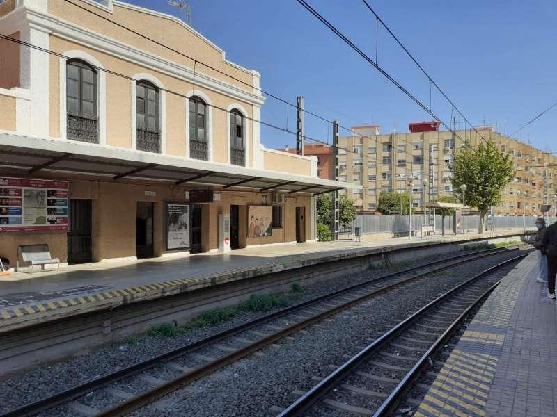 Estación de Metrovalencia en Torrent. EPDA