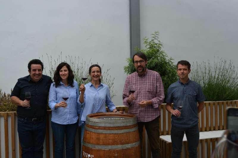 Un equipo para crecer en la producción de vino