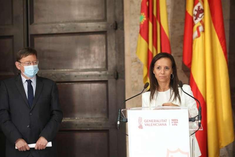 La presidenta de Red Eléctrica de España, Beatriz Corredor. EFE