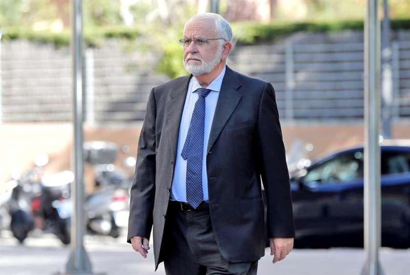 El exvicepresidente del Gobierno valenciano, expresidente de Les Corts Valencianes y ex director general de la Policía, Juan Cotino. EFE