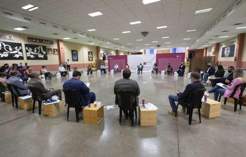 Reunión de alcaldes en Burriana