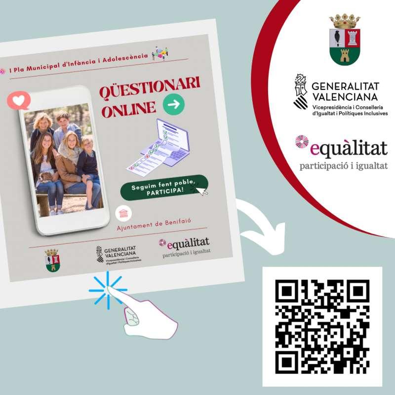 Cartel Ayuntamiento de Benifaió./EPDA