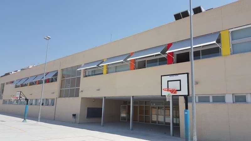 Colegio Lloma Llarga en Paterna. EPDA