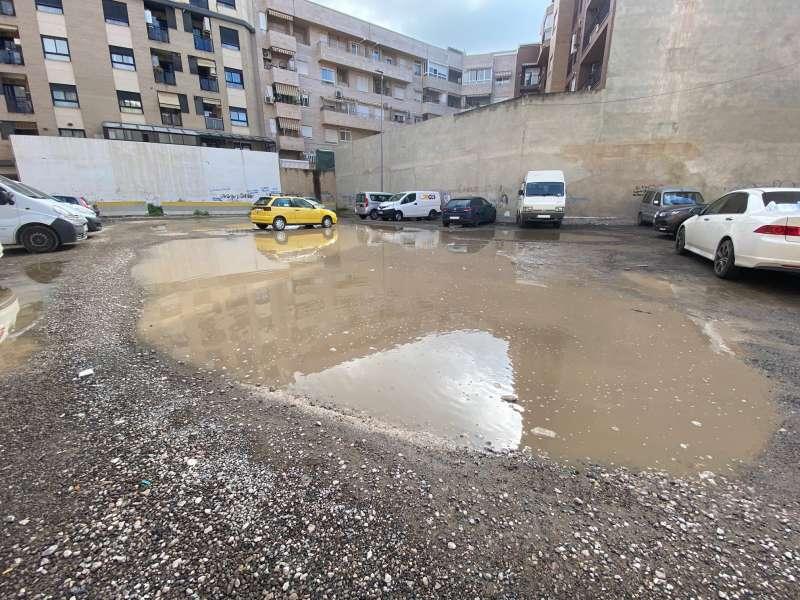Parking denunciado por el PP de Torrent. EPDA