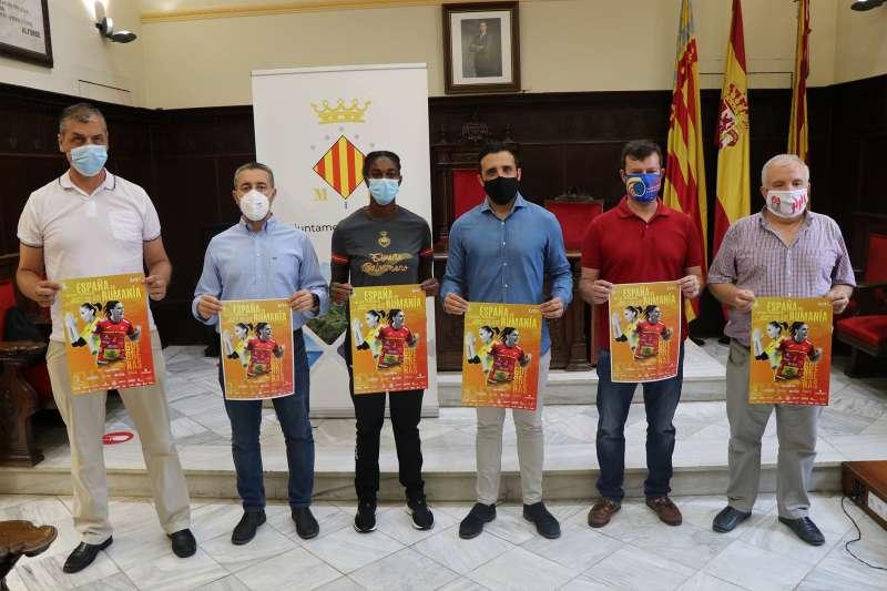 Presentación de los encuentros en el Ayuntamiento de Sagunt. / EPDA