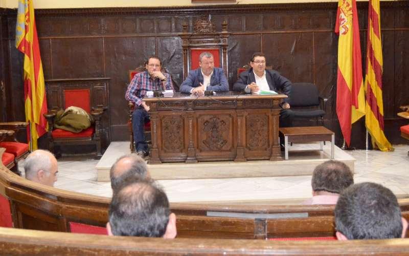 Reunión del Consorcio del Metro Cúbico. EPDA