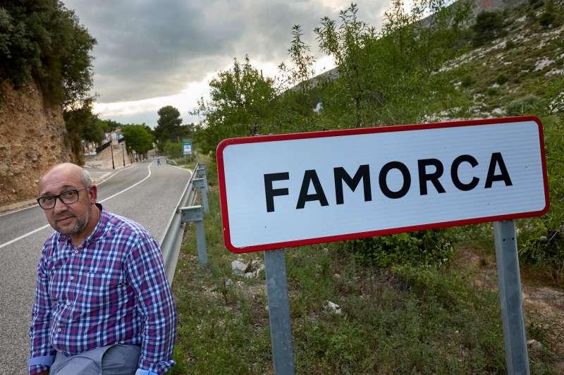 El alcalde de Famorca, Vicente Ruiz. EFE