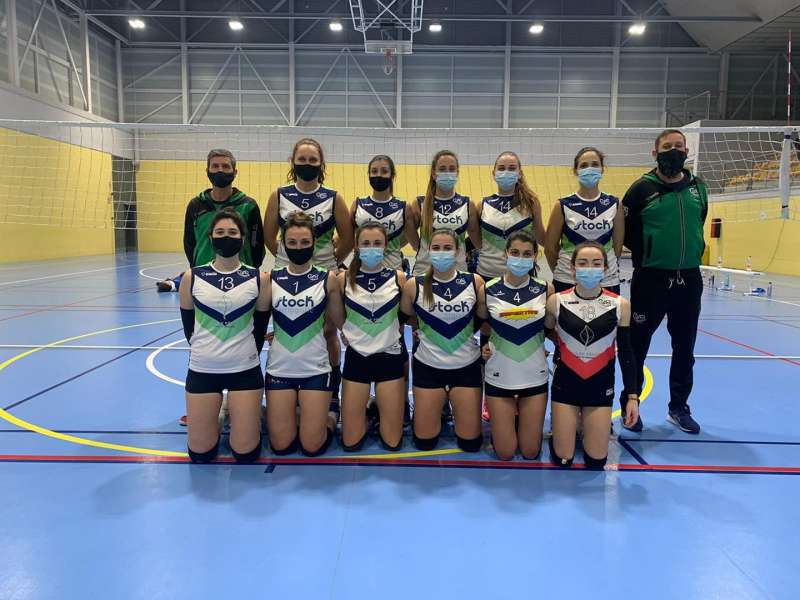 Jugadores del CV Sedaví. EPDA