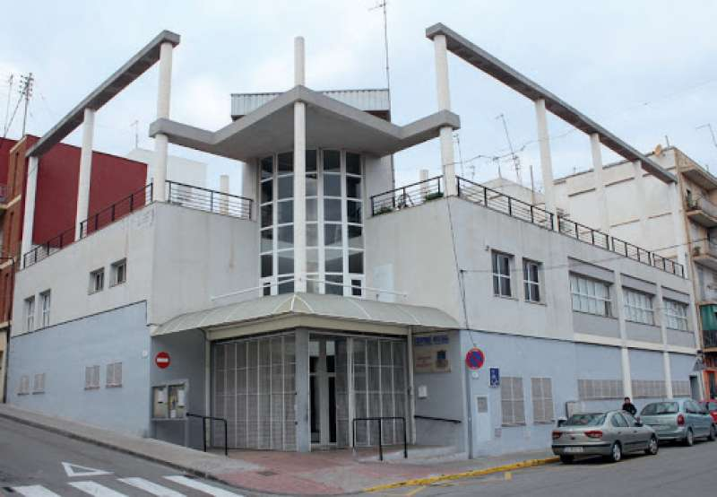 Centro social Tierno Galván de Burjassot. EPDA