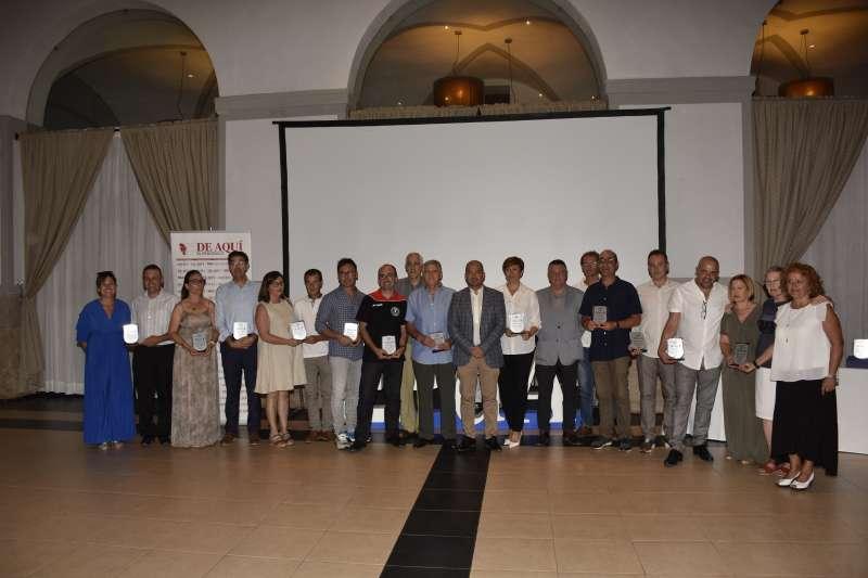 II Premios El Periódico de Aquí Palancia-Mijares. / Plácido González