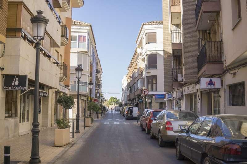 Una calle del municipio. / EPDA