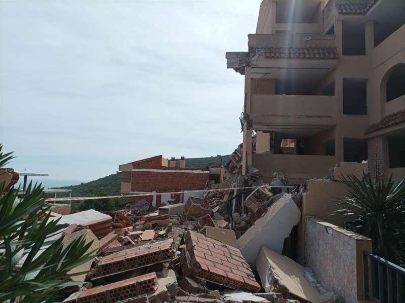 El estado actual de las ruinas, en una imagen facilitada a EFE.