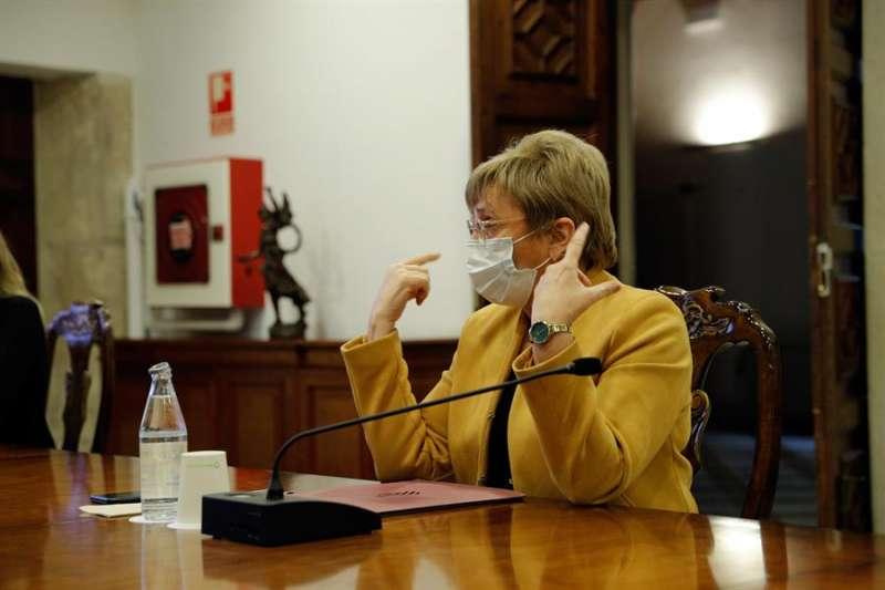 La consellera de Sanidad, Ana Barceló, en una imagen de archivo. EFE