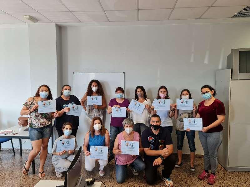 Participante Club de Empleo de Paterna./EPDA