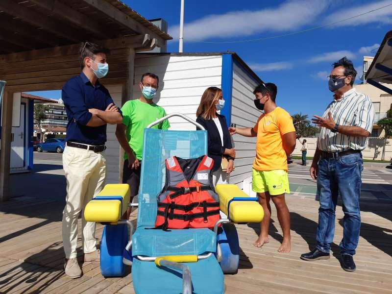 Preparació de les platges/EPDA