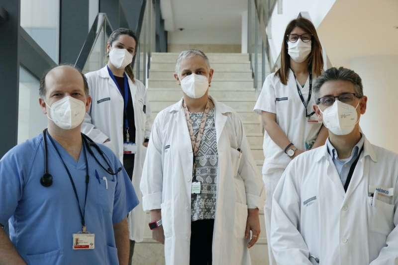 Personal médico del Hospital de La Fe de Valencia.