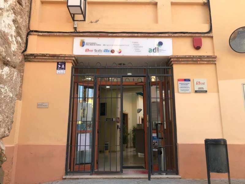 Oficina de Empleo de Riba-roja. / EPDA