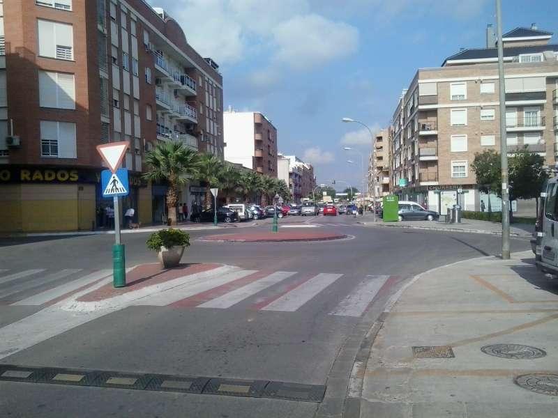Una de las calles del municipio. / EPDA