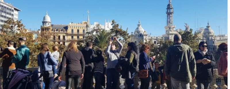 Balcó de l´Ajuntament de València