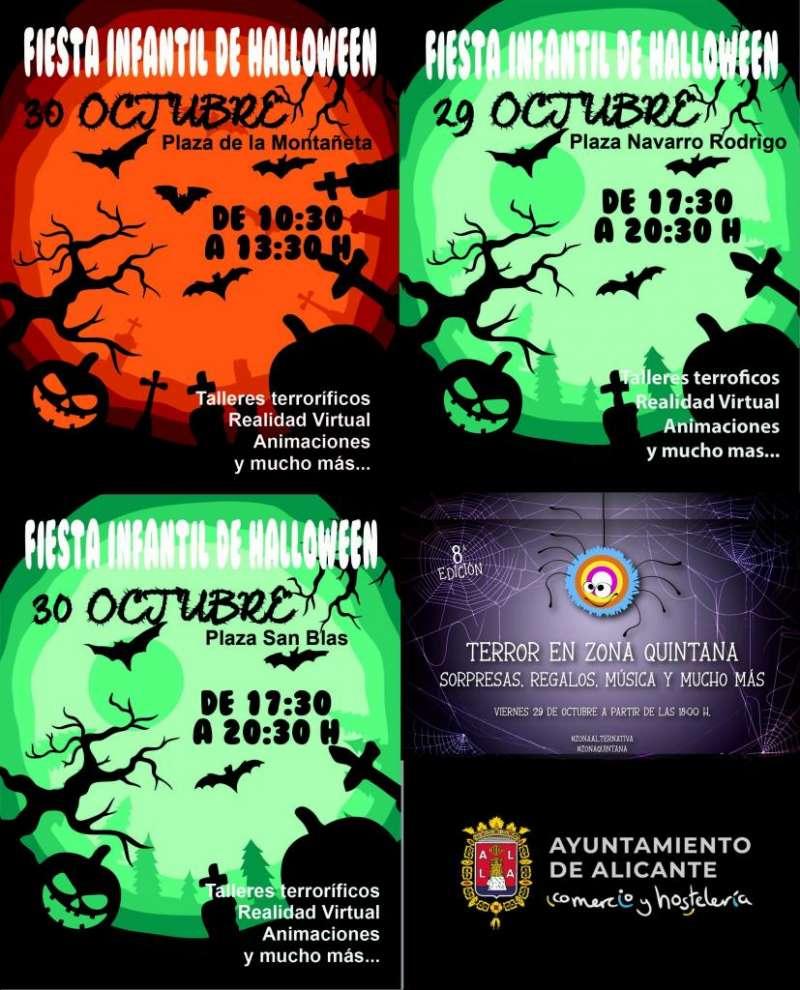 Cartel Halloween. EPDA