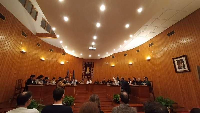 Vox vota en contra del Pla d?Igualtat en el ple. / EPDA