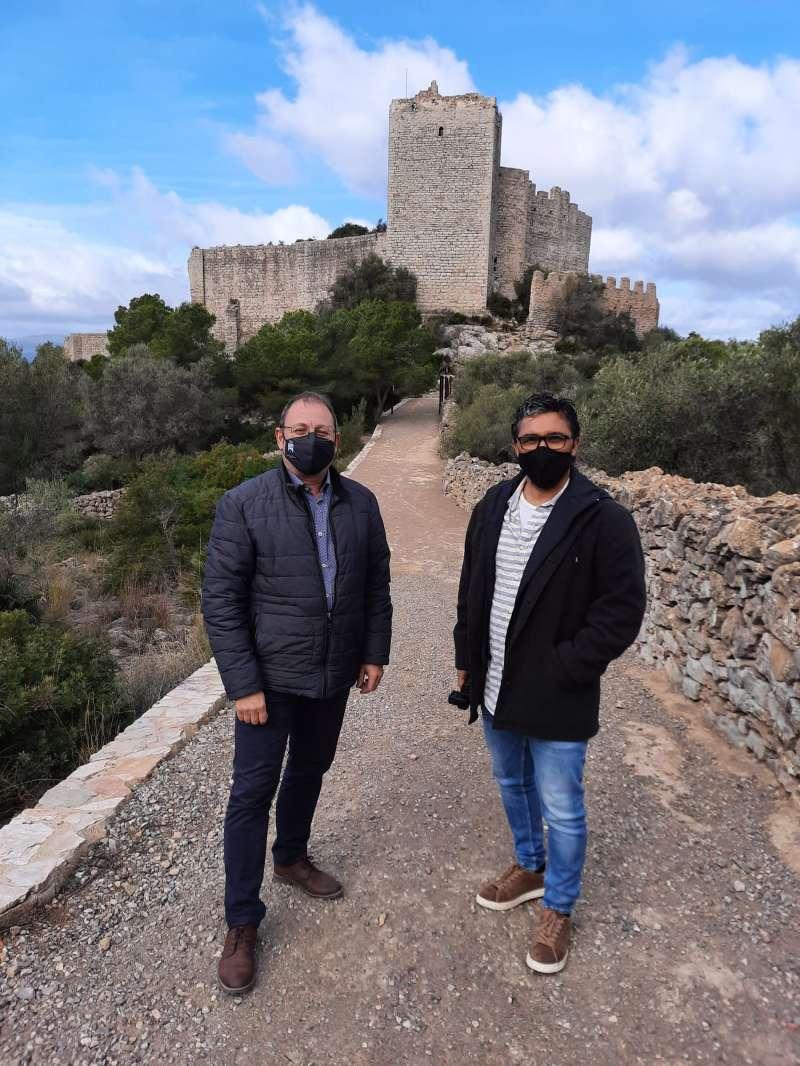 Visita al castell de Santa Magdalena