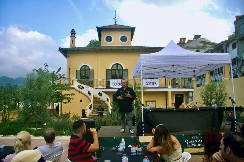 Showcooking en Villa Purificación